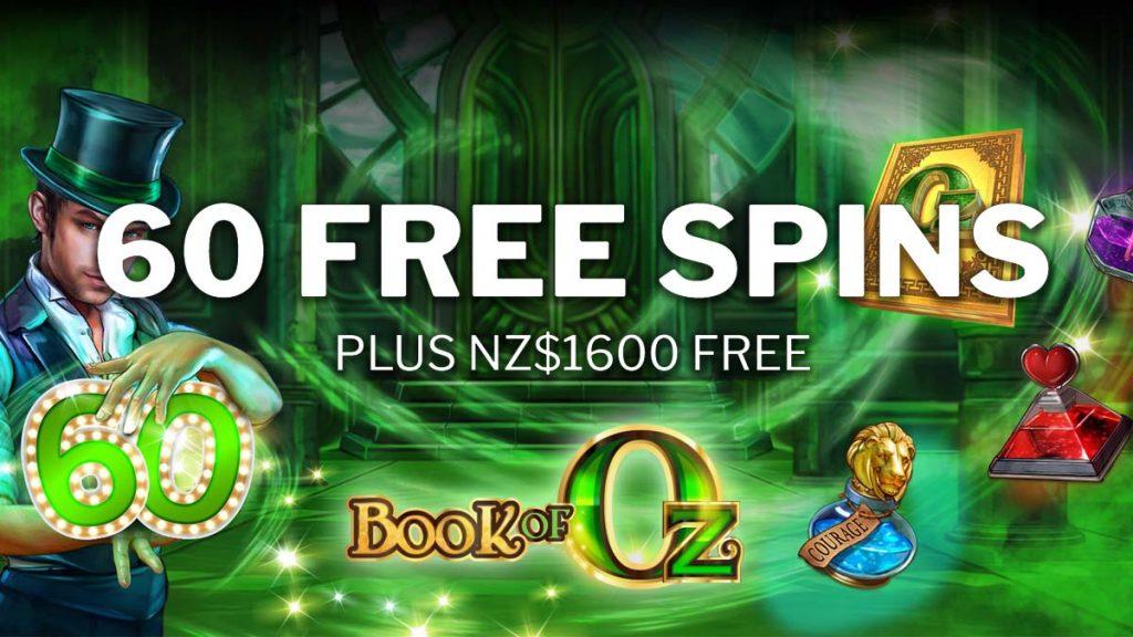 60 free spins FNZ JC